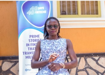 Kuzimba Services Business Store Manager, Ephrance Eunice Namugenyi says people no longer have to physically move looking for the materials as they can now be accessed online and delivered at their construction site (PHOTO /Courtesy)